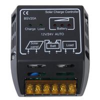 Wholesale Solar Panel Charger Regulators - Promotion! 12V 24V 20A Solar Panel Charger Controller Regulator