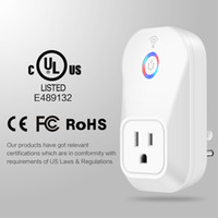 Smart Home Power Wifi Plug Adaptador Smart Socket EU, US, UK Plug Outlet Switch Wireless Time Schedule Telefone remoto CE ROHS FCC