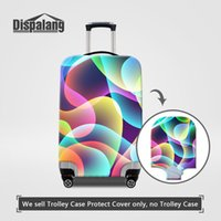 Stripe Stretch Elastic Luggage Protector Covers For 18-30 Inch Trolley Case Moda Rain Dustproof Suitcase Cover Mulheres Acessórios de viagem