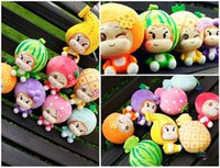 18cm Kawaii Fruit Plush Toys Lovely Banana Orange Strawberry Soft Stuffed Doll Pendentif Jouet pour bébé Enfants