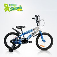 Wholesale Kids Bikes 18 - Wholesale 2016 Newest QIWAWA 18 inch children bicycle kids bike contains free auxiliary wheel 2 colors Free shipping