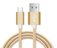 USB 3.0 Universal  new smart phone 1 2m data line 2A aluminum alloy nylon braided wire custom manufacturers wholesale for android and l phone4567