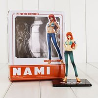 Wholesale Nami New World - 15cm Anime One Piece Nami Figure Toy Two Years Later Beauty Nami Model Doll for The New World