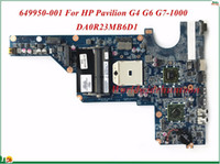 Wholesale G4 Cpu - MB 649950-001 For HP Pavilion G4 G6 G7-1000 Laptop Motherboard DA0R23MB6D1 AMD 2010 CPU HD6470 1GB Socket FS1 DDR3 100% Tested