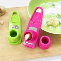 Wholesale Ginger Cooking - Multi Functional Ginger Garlic Grinding Grater Slicer Mini Cutter Garlic Presses Cooking Tool Useful Kitchen Accessories