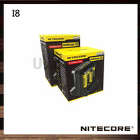 Wholesale Active Technologies - Nitecore I8 Intellicharger Active Current Distribution ACD Technology Multi-Slot USB Output Charger 100% Original