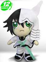 """Wholesale Japanese Cute Anime Stuff Toys - Wholesale-Cute Ulquiorra cifer Stuffed Toys Dolls Soft Japanese Anime Bleach Plush Toy For Cosplay Free Shipping 12"""""""