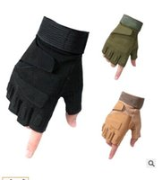 Wholesale Mountain Bike Fingerless Gloves - Wholesale outdoor mountain bike riding glove gloves sport refers to male motorcycle gloves