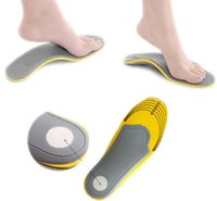 3D Premium Comfortable Orthotic Shoes Insoles Inserts High Arch Support Pad para mulheres homens