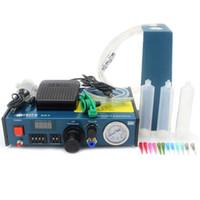 Wholesale Glue Industrial - FEITA FT-983 Desktop Automatic Epoxy Resin Fluid Glue Dispensing Liquid Solder Paste Dispenser Machine for DIY Industrial Electonics