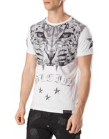 Wholesale Dimond Quality - Hot Selling Fashion Men Short Sleeve T-Shirt Tiger Dimond Print O-Neck Casual Summer PP Tops Tees Top Quality Plus Size M-XXXL