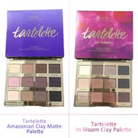 Wholesale Eyes Shadow Palette - Retail Link Dropshiping best Tartelette in Bloom Clay Palette 12 Colors Eye Shadow By Tarte High Performance Naturals