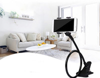 Wholesale lazy long arm phone holder for sale – best 360 Rotating Flexible Holder Long Arm Cell Mobile Phone Holder Lazy Bed Desktop Mount Bracket Reading in Bed Stand
