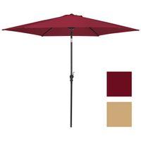 Wholesale umbrella market - 10 FT Steel Market Outdoor Patio Umbrella W  Crank, Tilt Push Button