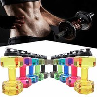 Novo 2.5L Creative Dumbbell em forma de água Sport Water Cup Kettle Fit Drink Gym Garrafa BPA Outdoor Fitness Bicicleta Bike Camping Cycling Kettle