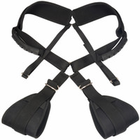 Wholesale Sex Swing Body - Portable Nylon Sex Sling Body Swing Make Love Suspension Kinky Play Furniture Adult Toys for Couples XLY530A