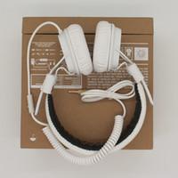 Wholesale 42 Monitors - Genuine Marshall Major headphones With Mic Deep Bass DJ Hi-Fi Headphone HiFi Headset Professional DJ Monitor Headphone Original 42-EJ