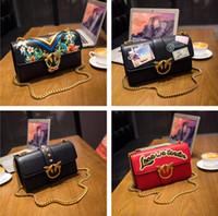 Wholesale Tassel Fringe Silk - 2017 new bags handbags women famous brands Embroidered bag fringe crossbody shoulder strap bag luxury designer leather top-handle bags