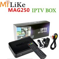 Wholesale Tv Hdmi Linux - Best Linux IPTV box, Mag 250 ip tv set top box, Media player support Wifi usb connector Cable Not include IPTV account, mag250