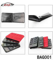 Wholesale Leather Racing Seat - RASTP - Free Shipping Maven Japstyle BRIDE Wallet JDM VERSION Racing Seat Fabric and Leather Wallet LS-BAG001
