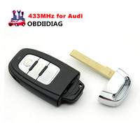 Wholesale Smart Keyless - Smart Remote Key fob Keyless Entry 3 Button 433MHz for Audi A4L Q5 8T0 959 754C 8T0959754C