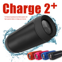 Wholesale Plastic Packaging For Mobile Phones - CHARGE 2+ Bluetooth Speaker Portable Outdoor Phone Call Mini Speaker HIFI Wireless Speakers For Stereo With Retail Package Better Charge 3