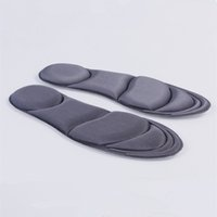 Wholesale Foot Massage Shoes - 4D slow rebound insole breathable sweat deodorant foot pad deodorant soft damping slow rebound massage insoles