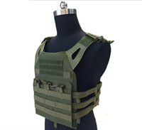 Wholesale Tactical Neck Armor - Armor Tactical JPC Plate Carrier Vest Ammo Magazine Chest Rig for Wargame CS Outdoor Airsoft Paintball Gear Loading Bear Equipment Hunting