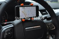 Atacado de carro Volante Car Phone Holder Bracket Bike Mount para celular celular GPS iPhone Samsung