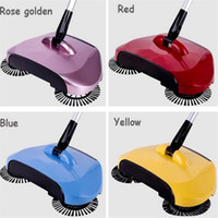 Wholesale High quality hot floor sweeper New Arrival Rotary Home Use Magic Manual Telescopic Floor Dust Sweeper