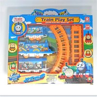 Wholesale Thomas Friends Wholesales - Thomas and Friends Gauge Electric Play Toys Best Kids Interactive Toy Thomas Train Play Christmas gift