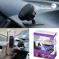 Wholesale mini holder magnetic car for sale - 360 Universal Magnetic Cell Phone Holder Stick On Dashboard Magnetic Car Mount Phone holder for Phone and Mini Tablets with package