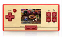 Wholesale Video Cable Tv - RS-20 PXP3 Classic Retro Handheld Game Player for FC pocket with AV Cable TV-out Children's Video Game Console 600 No Repeat Games