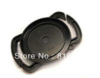 Wholesale Universal Lens Cap Holder - Wholesale-FREE SHIPPING Camera Lens Cap keeper 52mm 58mm 67mm Universal Anti-losing Buckle Holder Keeper