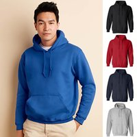 Wholesale Men Pullover Hoodies Wholesale - Wholesale-New casual men sportswear hooded sweatshirts mens solid color pullover hoodies fashion men Hooded sweatshirt tracksuit