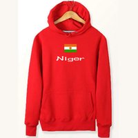 Niger flag hoodies Banner reine baumwolle stoff sweat shirts Land fleece kleidung Pullover sweatshirts Outdoor sport mantel Gebürstete jacken