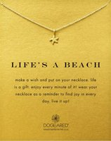 Sea star Pendant Dogeared Necklace Cute Choker Clavicle Moda Jóias Gift For Wife Friend
