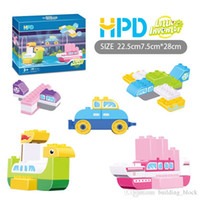 Wholesale 2017 HPD Block Puzzle Boys Toys Girls Bricks The Prince Living On The Star Children Plastics Assemblage Building Blocks Puzzle Birthday