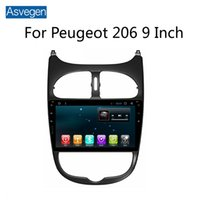 Per Peugeot 206 9 pollici dispositivo di navigazione per auto Asvegen con Octa Core GPS Audio Video Radio MP5 Player Bluetooth TPMS OBD RDS