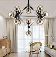 Wholesale Modo Chandelier - Hot 2 3 5 10 15 21-Lights Glass Jason Miller MODO Chandelier Droplight Living Room Pendant Lamp Light Wall Lighting For Bar Restaurant