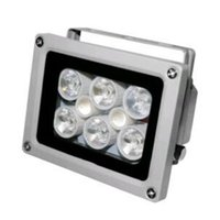 Illuminator DC 2A Night Vision infrarouge 8 LED IR Lights pour caméra de sécurité CCTV