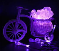 ingrosso le luci della stringa di cavo-Piombo Solar Led luci di Natale 20LED impermeabile goccia d'acqua LED luce solare stringa luci leggiadramente per le vacanze di illuminazione