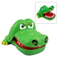 Wholesale Toy Crocodiles - Creative Mouth Tooth Alligator Hand Children's Toys Family Games Classic Biting Hand Crocodile Game