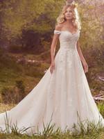 Wholesale Dror Wedding Dresses - Boho Low Back Wedding Dresses White Mermaid Sweetheart Designer Wedding Gowns inbal dror Lace Wedding Dress