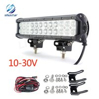 Wholesale Led 12v Cree Car - 12Inch 120W CREE Led Light Bar Flood Spot Combo Offroad Work Driving Lamp use for car SUV