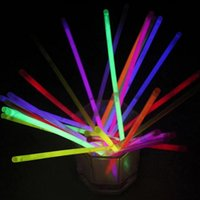 50Pcs Новая мода Multicolor Glow Stick Light Party Fun Glow Supplies Dance Party Halloween Decoration Accessories YLL766