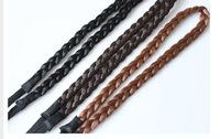 Wholesale Color Braided Elastic Band - H013 Top Brand New Women Elastic Hairband Braid Braided Hair Accessories Head Band Hair Weaving Ring Rope Dance Headwear