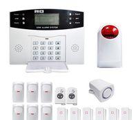 Wholesale Gsm Alarm 99 - 12 v YA-500-GSM-28 DIY alarm 99 wireless defense zones Wireless Home Security Burglar GSM SMS Alarm System