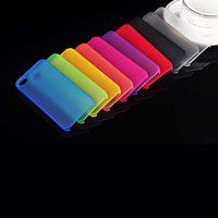 Wholesale Iphone4 Protective Cover - For iphone4 iphone 4S Case Ultra Thin 0.3 mm Soft PP Transparent Anti-Skid Matte Frosted Protective Cover For iphone4
