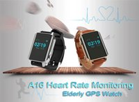 Wholesale Gps Personal Position Tracker - Personal GPS Tracker A16 Smart Watch Wristwatch Supports Heart Rate Measurement SIM Card Two Way Talk GPS+Beidou+WIFI+LBS Positioning Ann